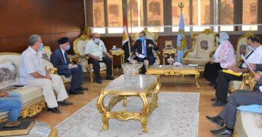 40 قافلة طبية واجتماعية فى احتفالات محافظة الغربية بعيدها القومى