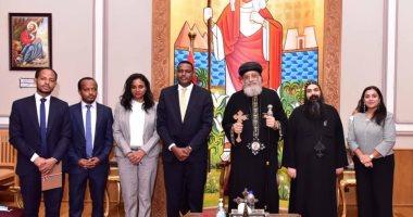 البابا تواضروس: أصلى وأثق أن المفاوضات بين مصر وإثيوبيا والسودان سوف تحل