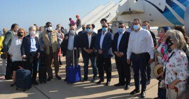 30 سفيرًا يتفقدون مطار شرم الشيخ