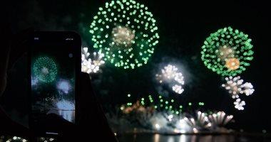 صور.. أهالى جدة السعودية يشاركون فى احتفالات اليوم الوطنى الـ90
