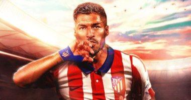 سواريز على مقاعد البدلاء فى أولى مبارياته مع أتلتيكو مدريد