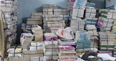 ضبط 100 ألف مطبوع تجارى بدون تفويض داخل مطبعة بالقاهرة