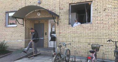 انفجار فى مبنى سكنى بالسويد دون وقوع إصابات.. صور