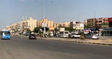 مدينة 6 أكتوبر تكذب فبركات الإخوان..هدوء وسيولة مرورية .. فيديو