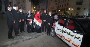 المصريون يحتفلون بالنصر على الإخوان ودعواتهم الهدامة.. فيديو