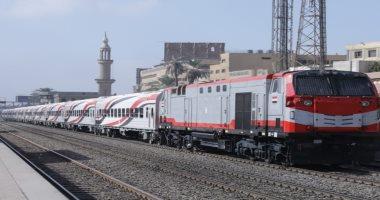 قطارات السكة الحديد