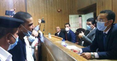 """السجن 15 سنة للمتهم بذبح ابنة عمه وأطفالها بـ""""مذبحة كفر الدوار"""".. صور"""