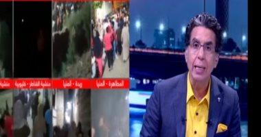 فيديو.. المصريون جننونهم.. محمد ناصر يسير على درب المقاول الهارب ويسب المصريين