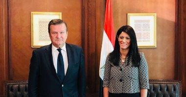 وزيرة التعاون تبحث مع سفير أوكرانيا انعقاد اللجنة المصرية الأوكرانية المشتركة