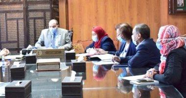 رئيس جامعة بنى سويف : تشكيل لجنة من كلية الهندسة لتطبيق إشتراطات السلامة