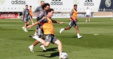 مارسيلو يعود لتدريبات ريال مدريد.. صور