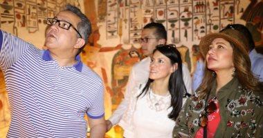 ليلى علوي تتغزل فى الحضارة المصرية بيوم السياحة العالمى.. وتعلق: مهد الحضارات