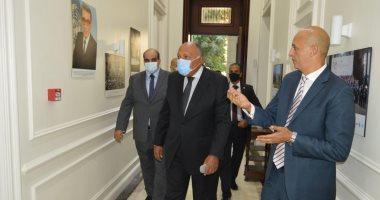 سامح شكرى يفتتح المقر الجديد لمركز القاهرة لتسوية النزاعات وحفظ السلام