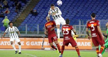 رونالدو يقود يوفنتوس لتعادل مثير أمام روما بالدوري الإيطالي.. فيديو