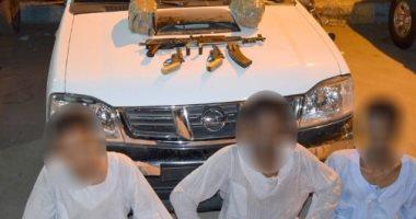 الداخلية تضبط تجار مخدرات في حملة أمنية بأسوان