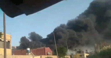 ندب الأدلة الجنائية لمعاينة حريق فيلا بمنطقة البيطاش فى الإسكندرية