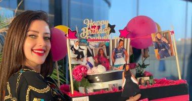 رضوى الشربينى تحتفل بعيد ميلادها الـ39.. صور