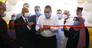 محافظ الشرقية يفتتح أعمال تطوير أقسام الاستقبال بمستشفى ههيا بـ6 ملايين جنيه