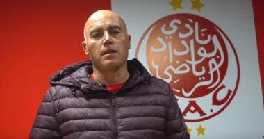 جاموندي مدرب الوداد: سنقاتل أمام الأهلي في القاهرة ولدينا أمل في التأهل