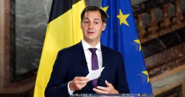 تحالف الأغلبية الجديد فى بلجيكا يختار ألكسندر دى كرو لمنصب رئيس الوزراء