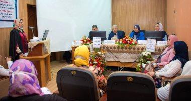 نائب رئيس جامعة طنطا يرأس لجنة مناقشة ماجستير حول التمريض الباطنى