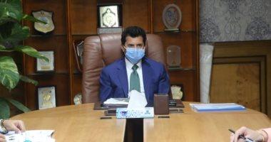وزير الرياضة: متخافوش على الفرق المصرية من كورونا فى نهائيات أفريقيا