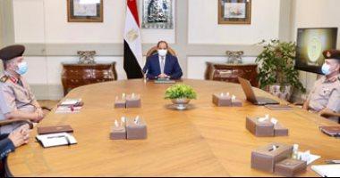 """السيسى يتابع جهود الدولة بالمشروع العالمى """"مرابط مصر"""" لإنتاج الخيل العربى الأصيل"""