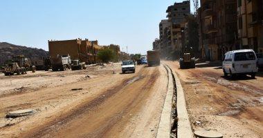 """تعرف على مشروع تطوير طريق """"خان أسوان"""" بالمدخل الشمالى للمدينة × 7 معلومات"""