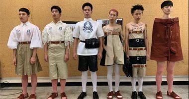إبداع حتى فى الاحتجاج.. طلاب تايلاند يرفضون الزى المدرسى بأزياء غريبة.. ألبوم صور