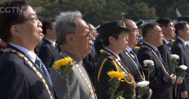 بكين تقيم مراسم تقديم باقات الزهور بمناسبة يوم إحياء ذكرى الشهداء