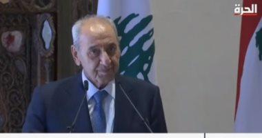 نبيه برى: واشنطن تعتزم بذل جهود لمفاوضات إيجابية بين لبنان وإسرائيل حول ترسيم الحدود