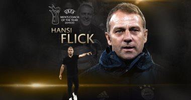 هانز فليك يفوز بجائزة أفضل مدرب فى أوروبا 2020 متفوقا على كلوب
