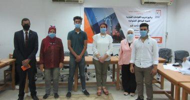 جامعة حلوان تواصل تنظيم دورات تدريب القيادات الشبابية لتنمية المناطق العشوائية