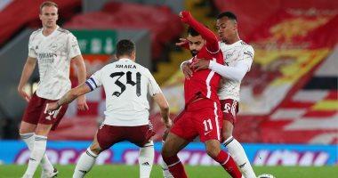 أرسنال يتأهل لربع نهائى كأس الرابطة على حساب ليفربول بمشاركة صلاح والننى