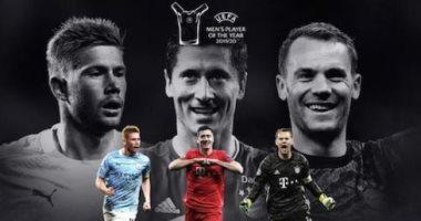 المرشحين للفوز بجائزة أفضل لاعب فى أوروبا 2020