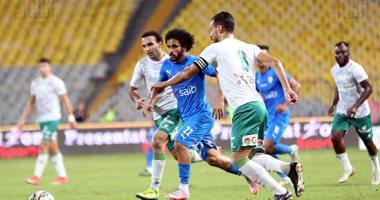 بعد مرور 60 دقيقة .. المصرى يضغط والزمالك يتقدم بهدف محمود علاء