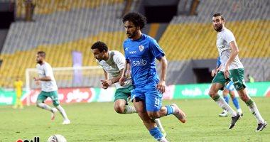 الزمالك يتفوق على المصري بـ10 لاعبين في مباراة مشتعلة الأحداث