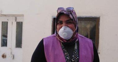 """النائبة أمل زكريا تشارك فى """"تحدى الكمامة"""" وتدعو للالتزام بإجراءات مواجهة كورونا"""