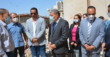 محافظ المنيا يتابع أعمال تطوير وتوسعة مستشفى الصحة النفسية وعلاج الإدمان