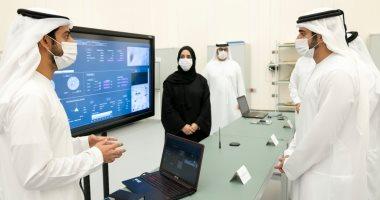 ولى عهد دبى يناقش استراتيجية مركز محمد بن راشد للفضاء 2021-2031..صور