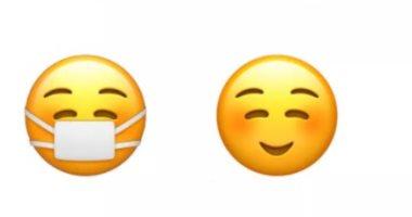 أبل تخفي ابتسامة خلف إيموجي الكمامة الجديد