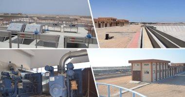 الإسكان: محطة أبو رواش لمعالجة المياه تنتج 1.6 مليون متر مكعب يوميا