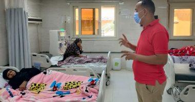 محاضرة حول الوقاية من كورونا لمرضى الغسيل الكلوى بمستشفى الأقصر العام