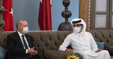 أردوغان يستغيث بقطر.. 3 زيارات لرئيس تركيا للدوحة خلال أشهر لإنقاذ اقتصاده