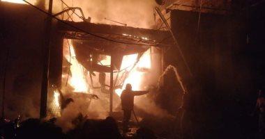 حبس عامل 4 أيام لاتهامه بإشعال النيران فى معرض سجاد بقنا