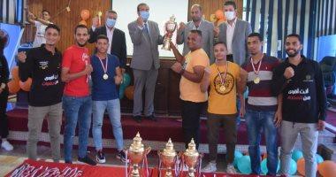 بيت التطوع بجامعة سوهاج يحتفل بختام فعاليات أسبوع التوعية بمخاطر الإدمان