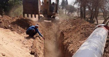 قطع مياه الشرب من قرى الغربانيات والحمام غرب الإسكندرية بسبب أعمال التجديد غدا
