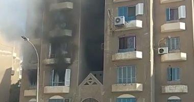 تشريح جثة ربة منزل عثر عليها متوفية داخل منزلها بفيصل بعد اشتعال النيران