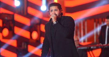 مصطفى حجاج يشعل حفل ذكرى نصر أكتوبر بمدينة الجلالة بأجمل أغنياته