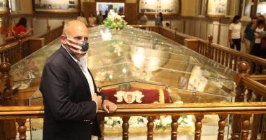مدير الوكالة الأمريكية للتنمية يزور كنيسة شهداء الوطن بالمنيا: نلت بركة عظيمة